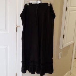 Draw string full length skirt